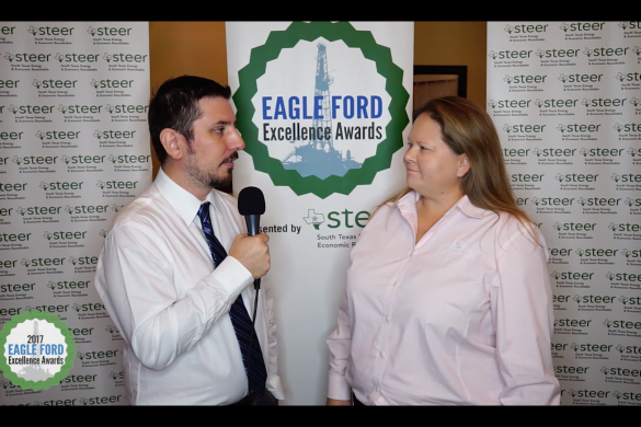 Eagle Ford Excellence Awards 2017 - David Blackmon & Danielle Hale