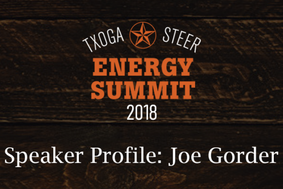Joe Gorder STEER Energy Summit 2018 Featured 2