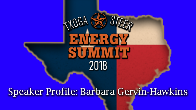 STEER Energy Summit 2018 Featured Barbara Gervin-Hawkins