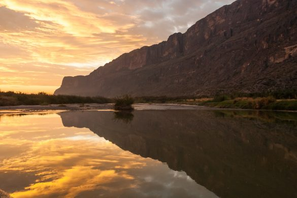Sunrise over the Rio Grande, Big Bend National Park