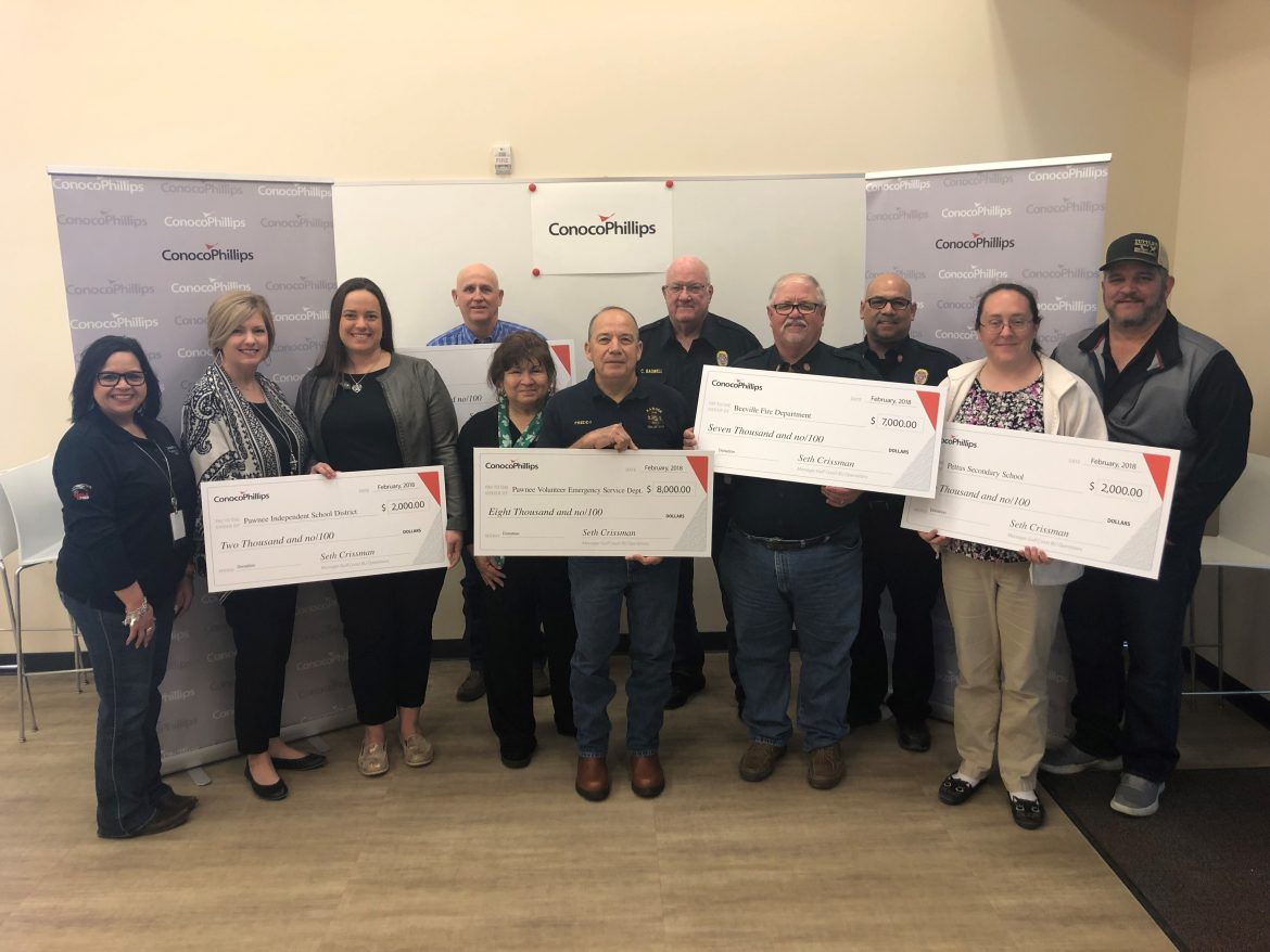 ConocoPhillips Regional Recipients Bee County